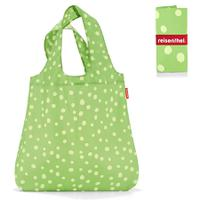 Сумка складная Mini maxi shopper spots green, Reisenthel